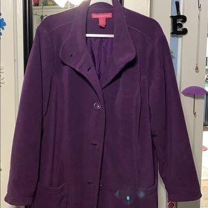 Women's plus coat